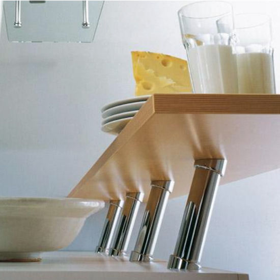 Hafele Countertop 20� Cantilever Bar Support for Solid Tops
