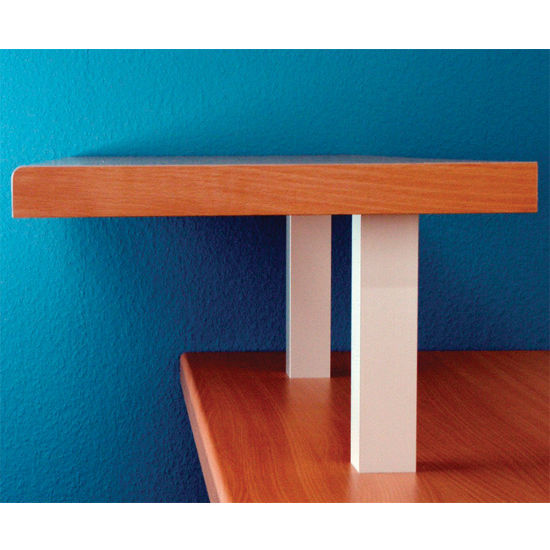 Raised Countertop Bar Supports for Solid Tops - Made out ...