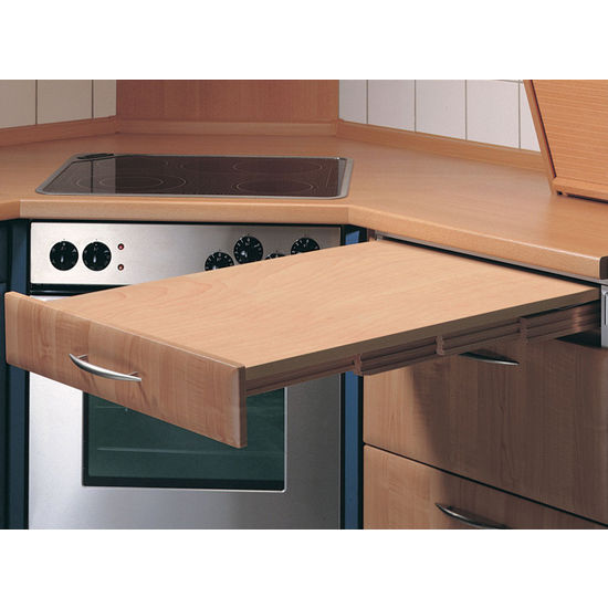 "Hafele ''Rapid"" Pull-Out Kitchen Table"