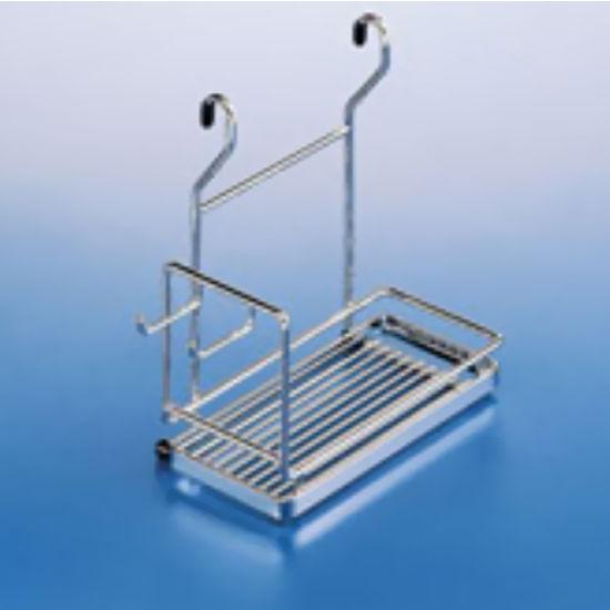 Hanging Mixer Holder For Backsplash Railing System