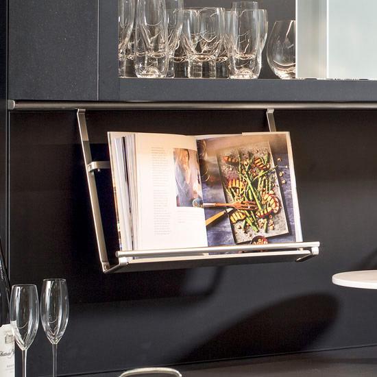 Hanging Cookbook Holder for Propi Backsplash Railing System