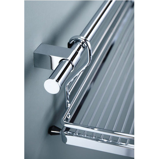 kitchen railing - hafele seamless tubular railing - chrome plated