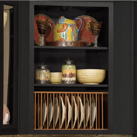 Hafele Wooden Plate Rack for Kitchen Cabinet in Maple ...