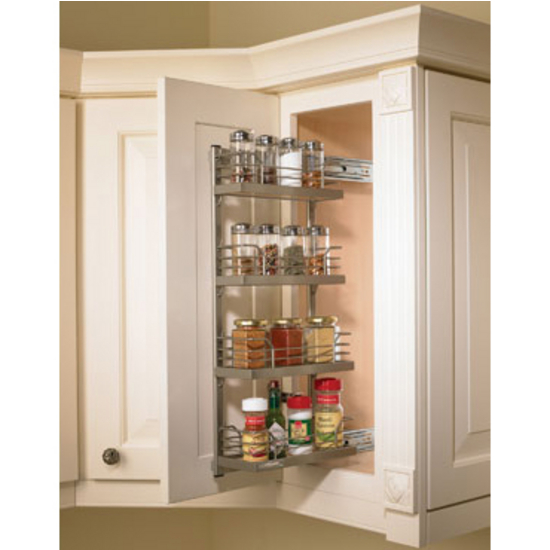 Hafele Kessebohmer Spice Rack for Mounting on Cabinet Door or ...