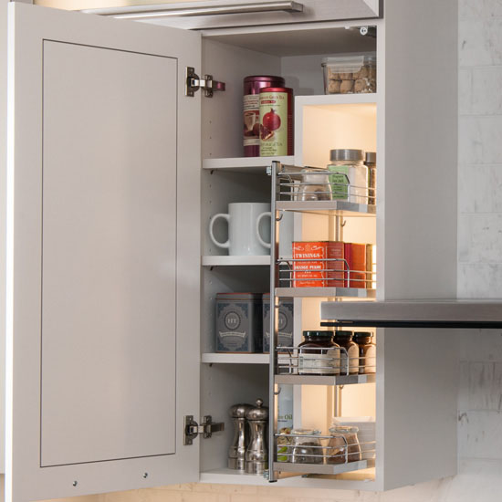 Kessebohmer Kitchen Accessories: Hafele Kessebohmer Spice Rack For Mounting On Cabinet Door