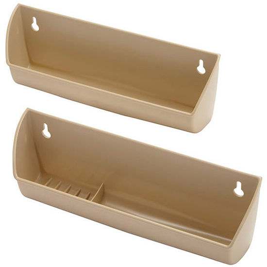 hafele sink front tip out tray set for kitchen or vanity