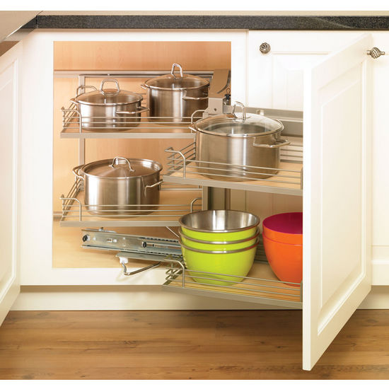 Hafele Magic Corner I for Use in Kitchen Blind Corner Cabinet ...