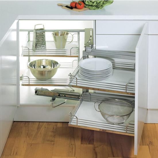 hafele magic corner i for use in kitchen blind corner cabinet. Black Bedroom Furniture Sets. Home Design Ideas