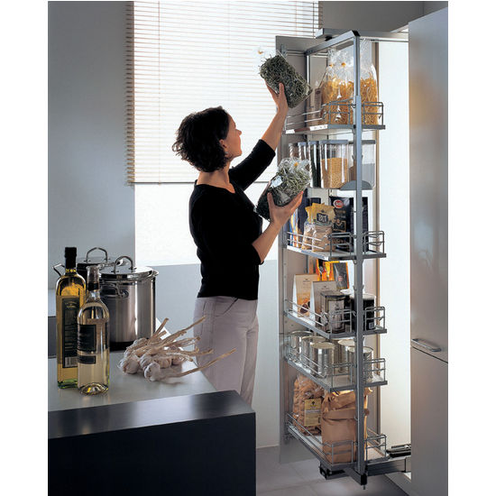 Pull Out Amp Swing Kitchen Pantry Organizer By Hafele