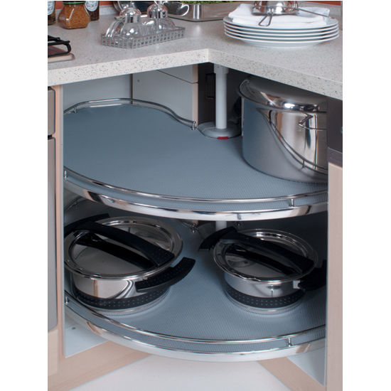 Kitchen Shelf Lining Ideas: Non-Slip/Non-Skid Shelf Liner Mats For
