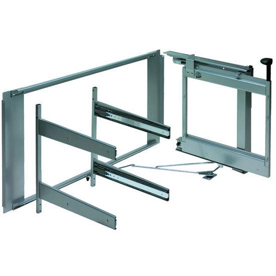 Kitchen Cabinet Accessories Blind Corner hafele magic corner ii for use in kitchen blind corner cabinet