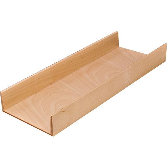"""Hafele """"Fineline"""" Move Kitchen Multipurpose Insert, Birch, 6""""W x 16-11/16""""D x 1-15/16""""H"""