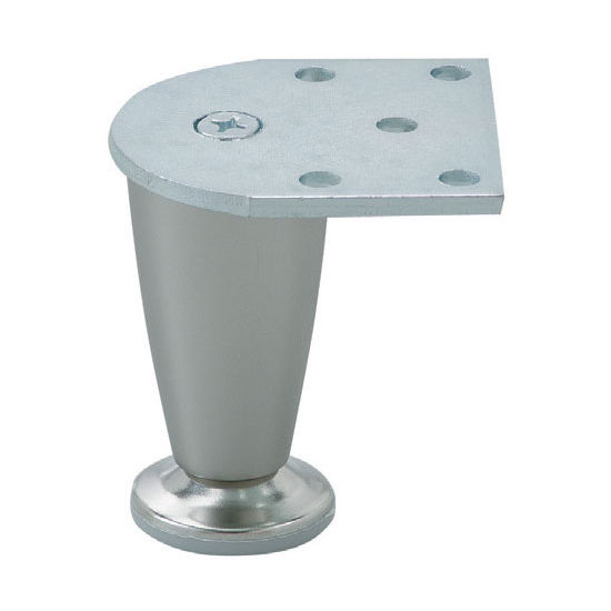 Furniture Foot 75 In Polished Chrome Or Matt Nickel 75mm 3 39 39 H By Hafele