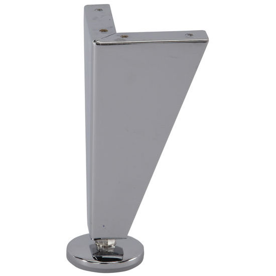 Furniture Foot 150 Solid In Polished Chrome Matt Nickel Or Silver Epoxy 150mm 6 39 39 H By