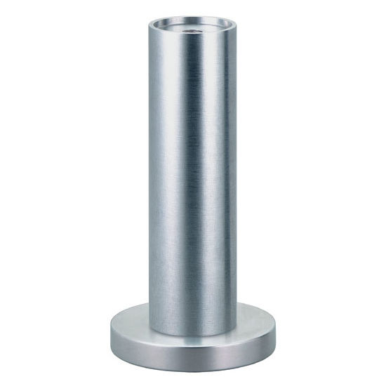 Furniture Foot With M8 Threads Or Plate In Matt Or Polished Aluminum By Hafele