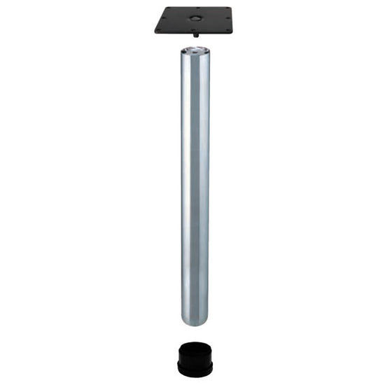 Table Bases Table E Legs 50mm 2 39 39 Diameter With Adjustable Foot By Hafele