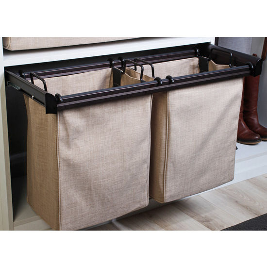 Hafele Engage Laundry/Pant Rack Pull-Out Frame, Oil Rubbed Bronze