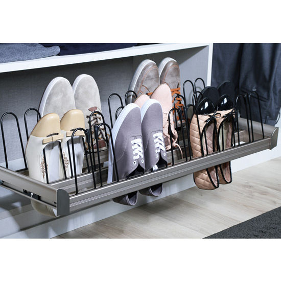 Engage Pull Out Shoe Organizer With Full Extension Slides
