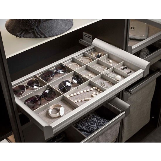 Customizable Engage Jewelry Organizer Grid by Hafele KitchenSourcecom