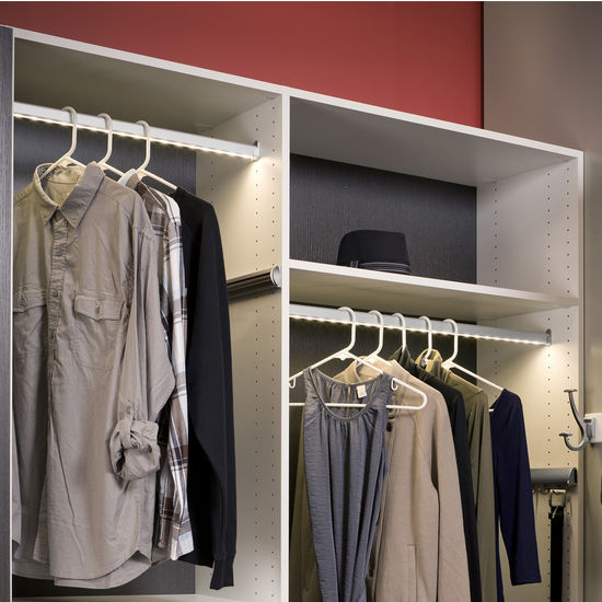 Cabinet Lighting Hafele Loox 12v Led Closet Wardrobe