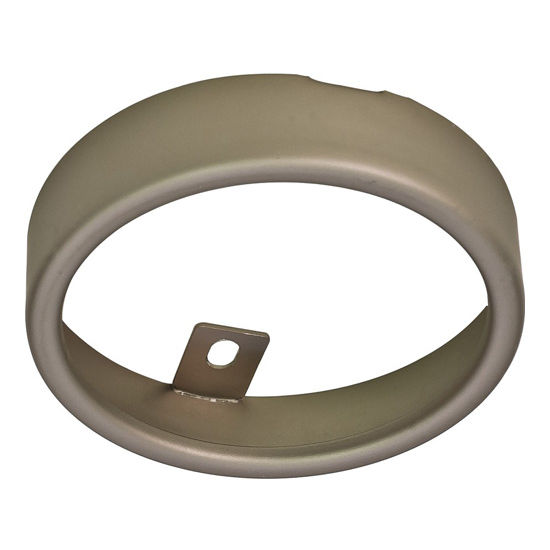Hafele Loox LED 12V 2020 Surface Mount Ring Round, Nickel-Plated Matt