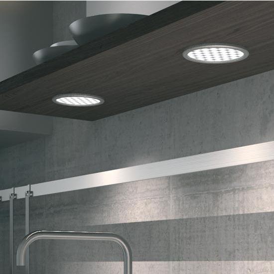 Hafele Loox 24V LED #3002 Recess Mounted Round Light