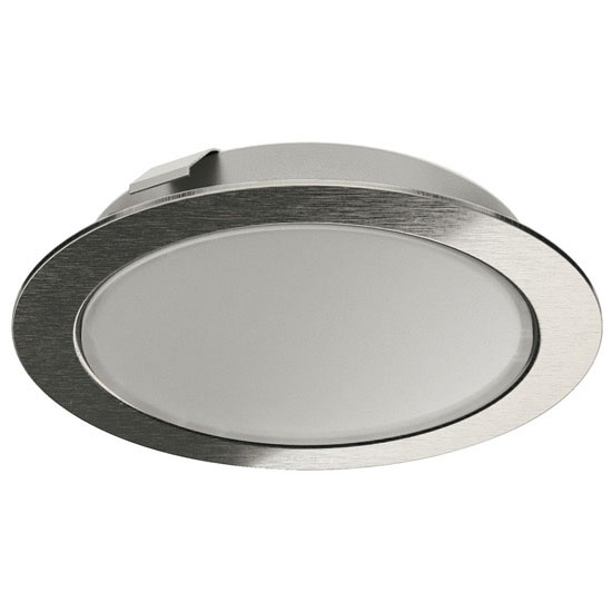 unfinished kitchen cabinets hafele loox led 3038 24v recess surface mount puck light 3038