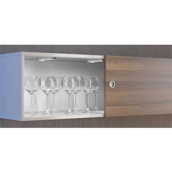 cabinet lighting loox led 24v 3009 modular surface mount light with or with. Black Bedroom Furniture Sets. Home Design Ideas