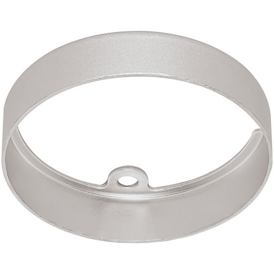 Hafele HA-833.77.730 Loox LED 24V 3010 Surface Mount Ring Round, Aluminum, Silver Anodized