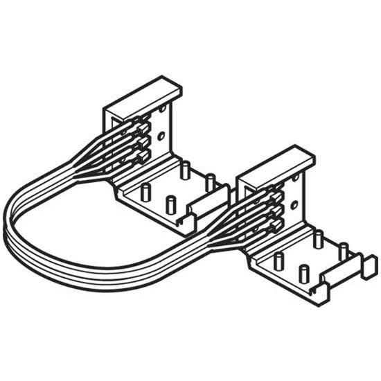 Hafele HA-833.77.740 Loox LED 24V 3013/3015 Ribbon Daisy Chain Connector Cable 50mm - 2000mm