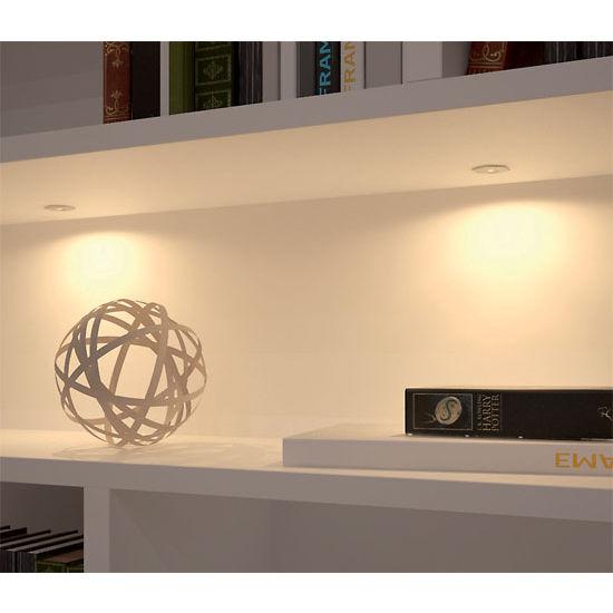 Hafele Loox 350mA LED #4006 Recess Mounted Hexagonal Light