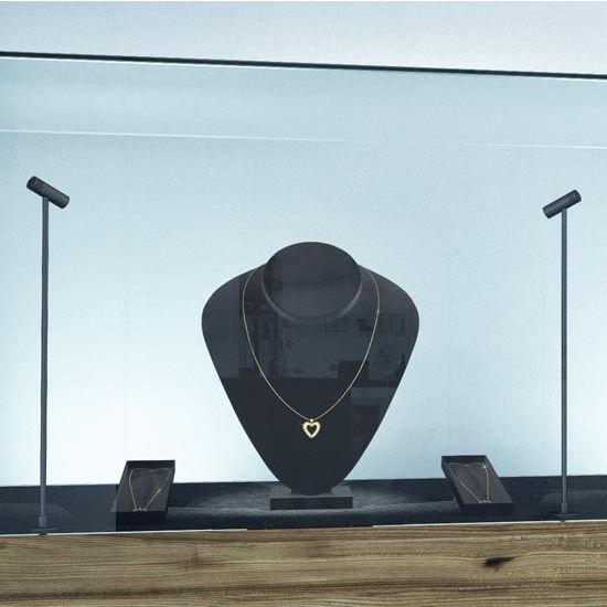 Hafele HA-833.80.000 Loox LED 350mA 4011 1W Cool or Daylight White 4000K - 6000K Pole Light, Aluminum and Steel, Black