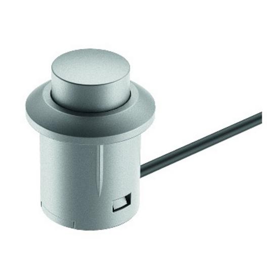 cabinet lighting hafele loox 12v 24v and 350ma led switches kitchensourc. Black Bedroom Furniture Sets. Home Design Ideas