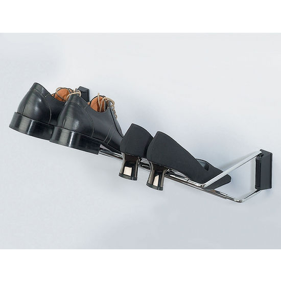 hafele wall mounted shoe rack