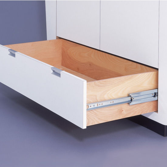 Bottom Heavy Duty Drawer Slides : Accuride full extension side bottom mount drawer slide