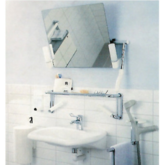 Adjustable Bathroom Mirror