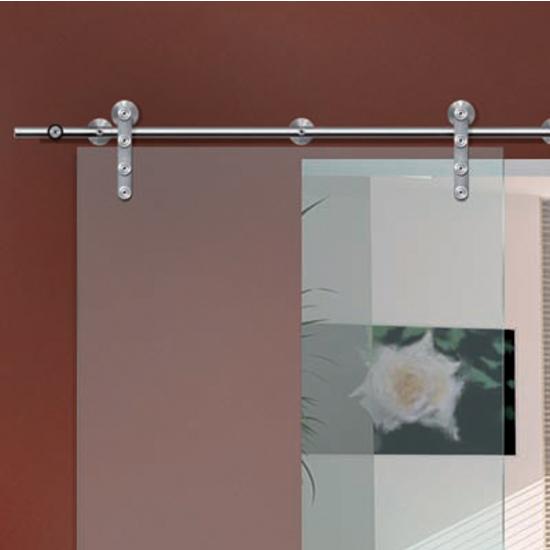 Hafele sliding door hardware flatec iv sliding door for Glass sliding door track systems