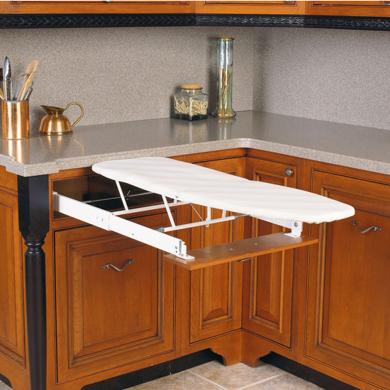 Built-In Drawer Mount Ironing Board