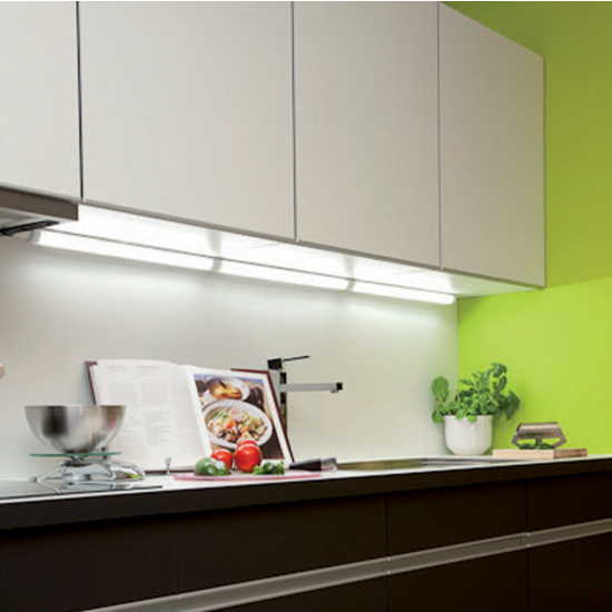 View Larger Image - Hafele Select 110V LED Under Cabinet Strip Light With Power Cord