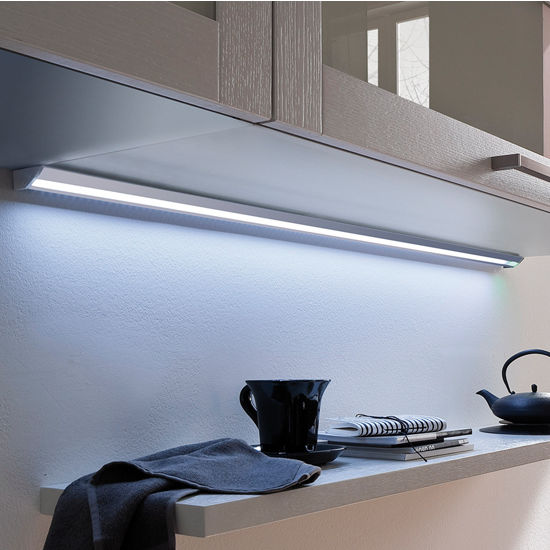 Kitchen Under Cabinet Strip Lighting: Hafele Luminoso 12V LED Derby Under Cabinet Strip Light