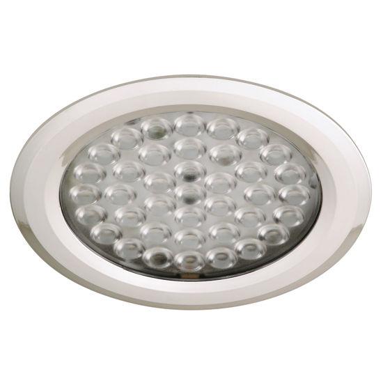Hafele Luminoso 12V LED Nova High Intensity Round Light, Recess Mounted