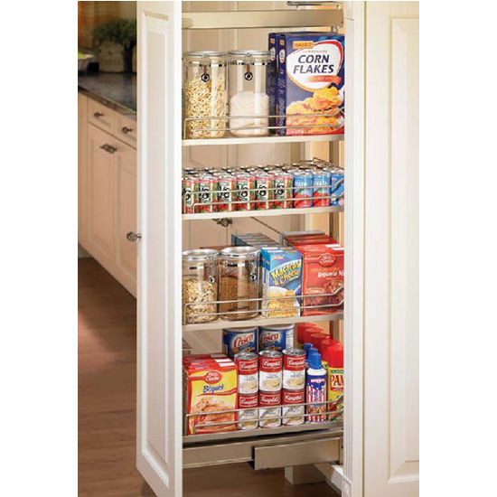 Hafele Pantry Pull-Out, Full Extension Pantry Frame