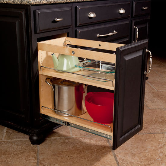 hafele smartcab base pullout with soft close function 11w x 22 11 - Kitchen Source