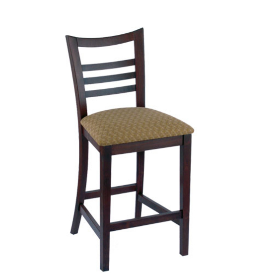 Holland Wood Ladderback Bar Stool