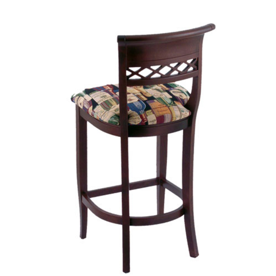 Bar Stools Holland Sultan Bar Stool w Fabric or Vinyl  : hb 4140 fn back l s3 from www.kitchensource.com size 550 x 550 jpeg 97kB