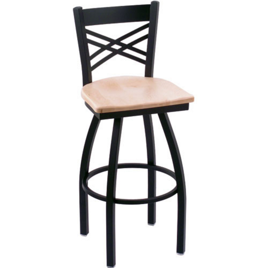 Holland Catalina Swivel Bar Stool with Fabric or Vinyl  : hb 820 w l s3 from www.kitchensource.com size 550 x 550 jpeg 82kB