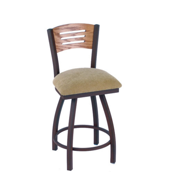 Holland Voltaire Swivel Bar Stool