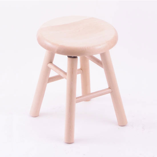 Holland Commercial Maple Saddle Dish Bar Stool