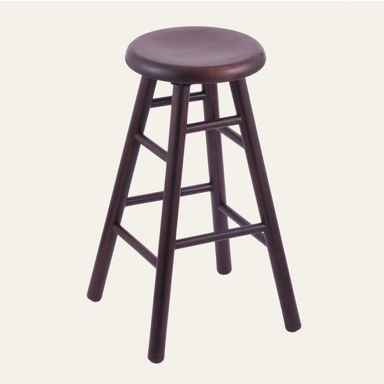 Holland Commercial Maple Saddle Dish Bar Stool Hb Scm Sd