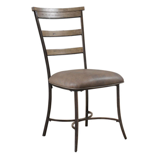 Hillsdale Furniture Charleston Ladder Back Dining Chair, Set of 2